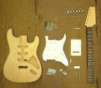 手作りギターキット エレキギター・ストラトタイプ