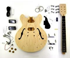 手作りギターキット エレキギター・レスポールギター