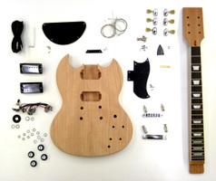 手作りギターキット エレキギター・SGタイプ
