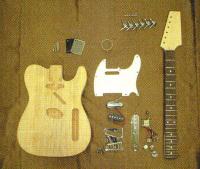 手作りギターキット エレキギター・テレキャスタイプ