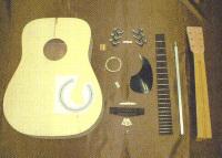 手作りギターキット ウェスタンギター